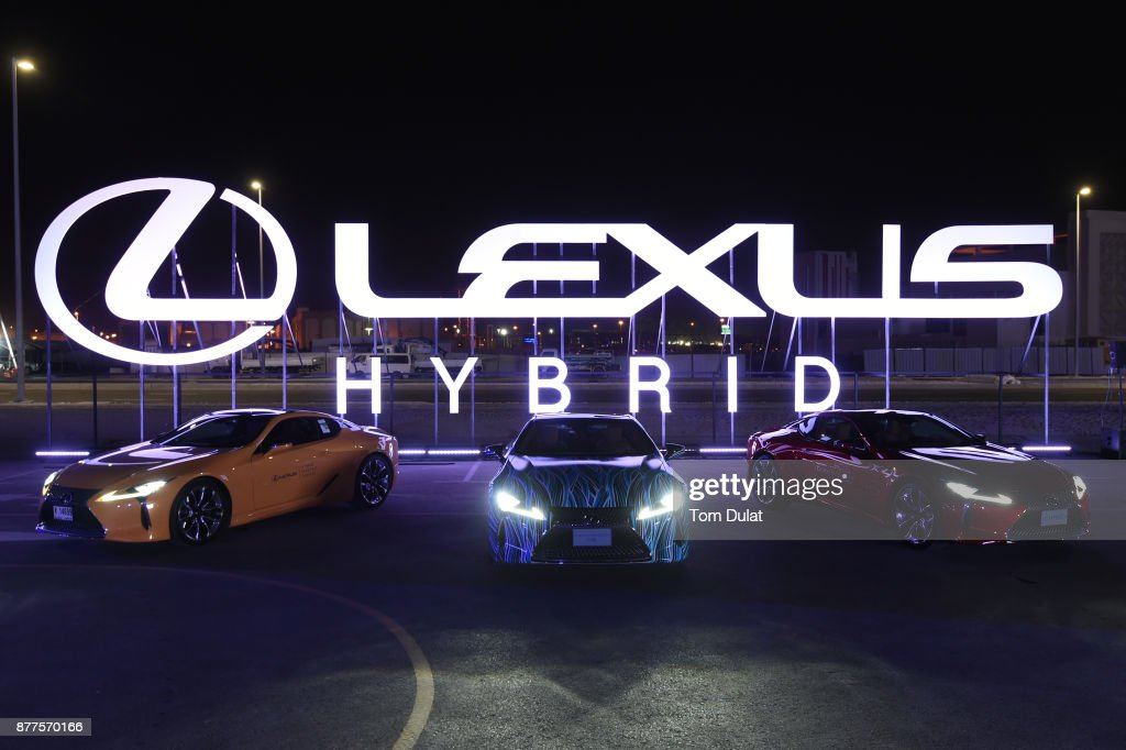 Lexus Hybrid Drive In News Photo