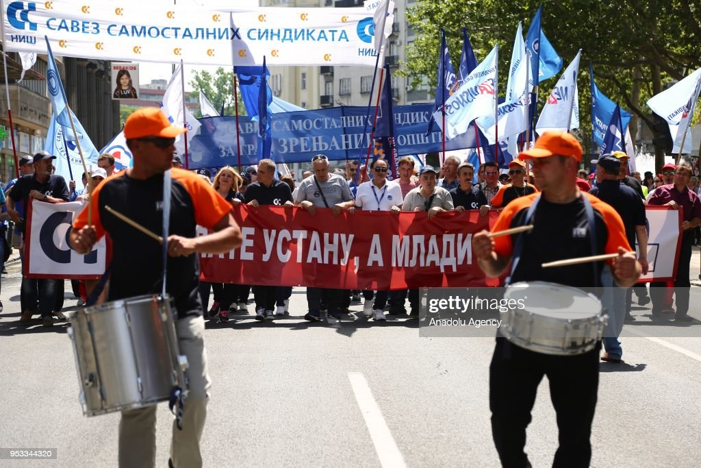 May Day celebrations in Serbia : News Photo