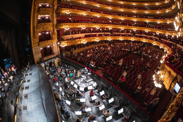 ESP: 'La Traviata' Rehearsal In Barcelona