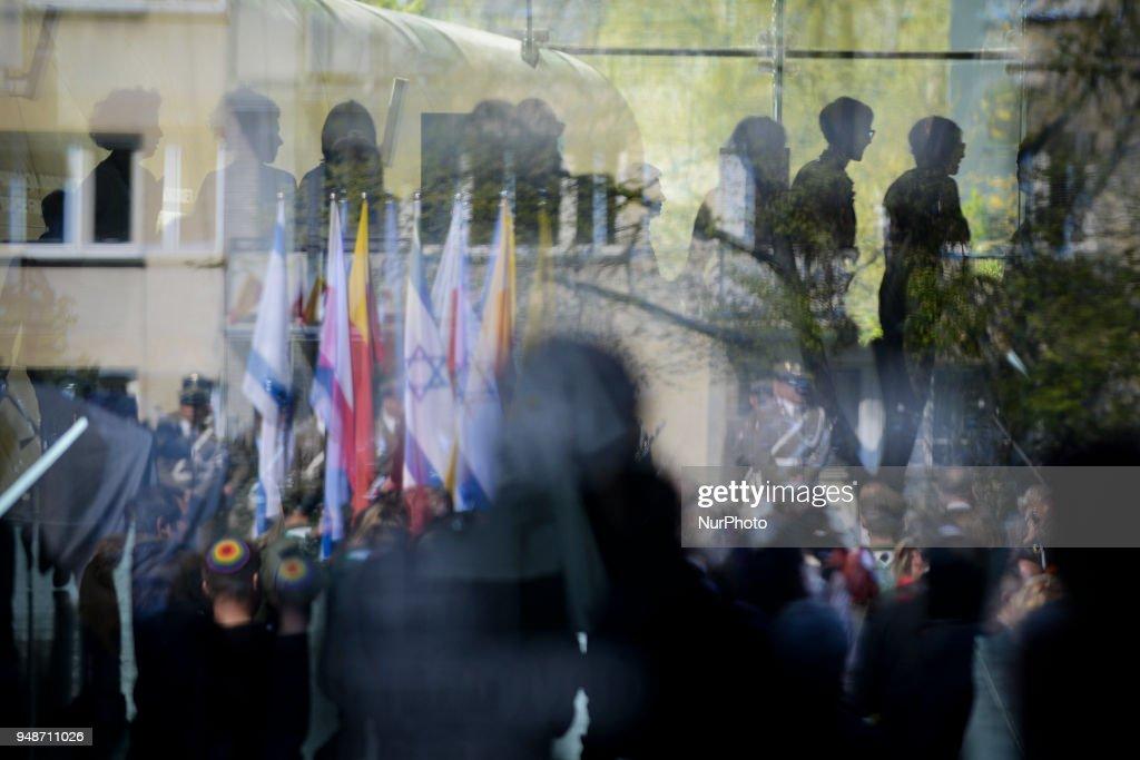 75ht Anniversary of Warsaw Ghetto Uprising