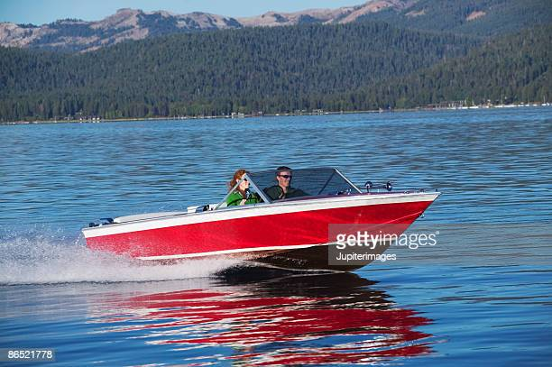 People boating