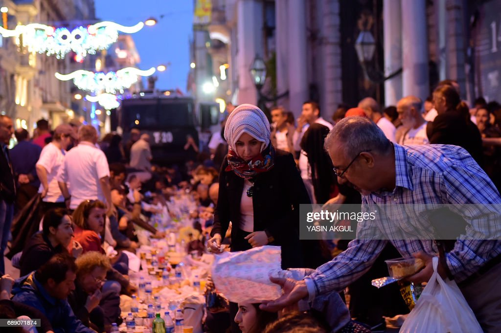 TURKEY-RELIGION-ISLAM-RAMADAN : News Photo