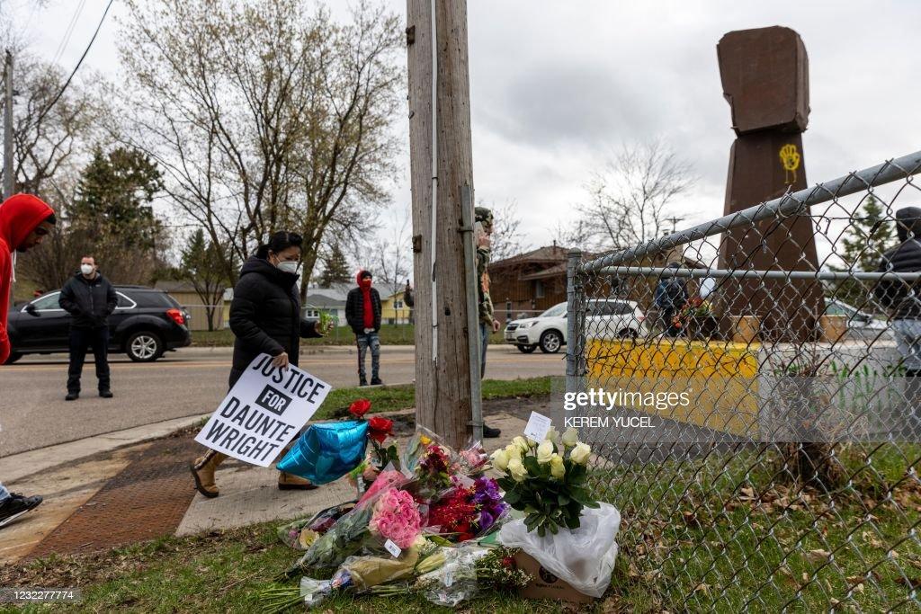US-POLICE-CRIME-UNREST-RACISM : News Photo