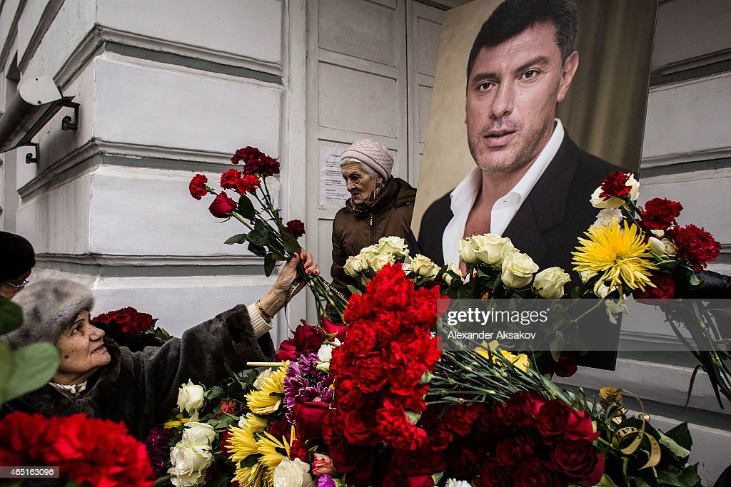 Mourners Attend Funeral Of Murdered Politician Boris Nemtsov