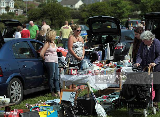 60 Top Car Boot Sale Pictures Photos And Images Getty Images