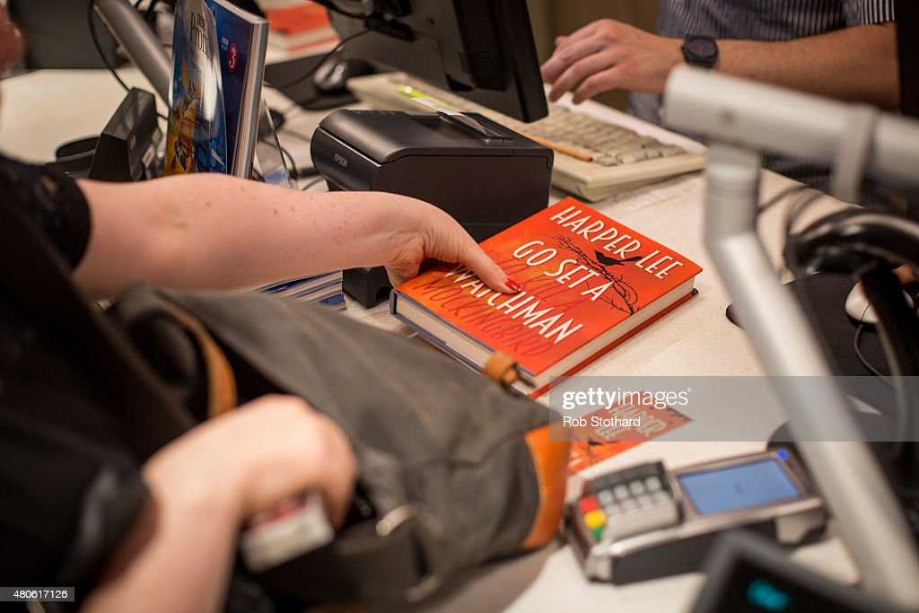 People buy 'Go Set A Watchman' by Harper Lee shortly after midnight at Foyles book shop on July 14, 2015 in London, England. Go Set a Watchman was written in the mid-1950s before Lee's Pulitzer Prize winning novel To Kill a Mockingbird, which was published in 1960. The original manuscript was then lost for nearly half a century years, discovered by Harper Lee's lawyer in late 2014. The novel goes on sale on July 14.