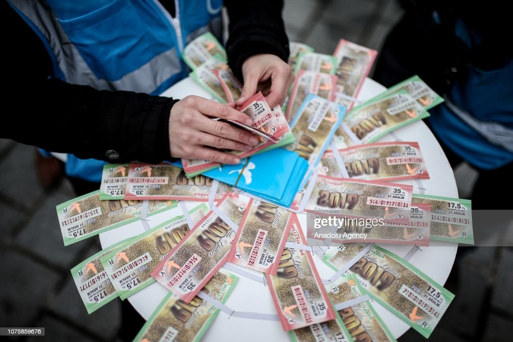 Ahead of Turkey's New Year lottery draw : News Photo