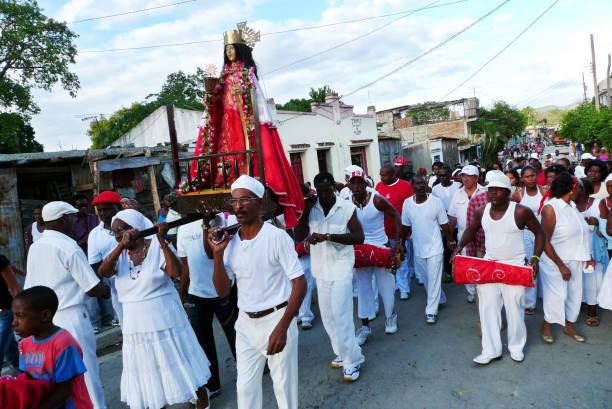 Photos et images de Cubans Celebrate Anniversary Of Catholic