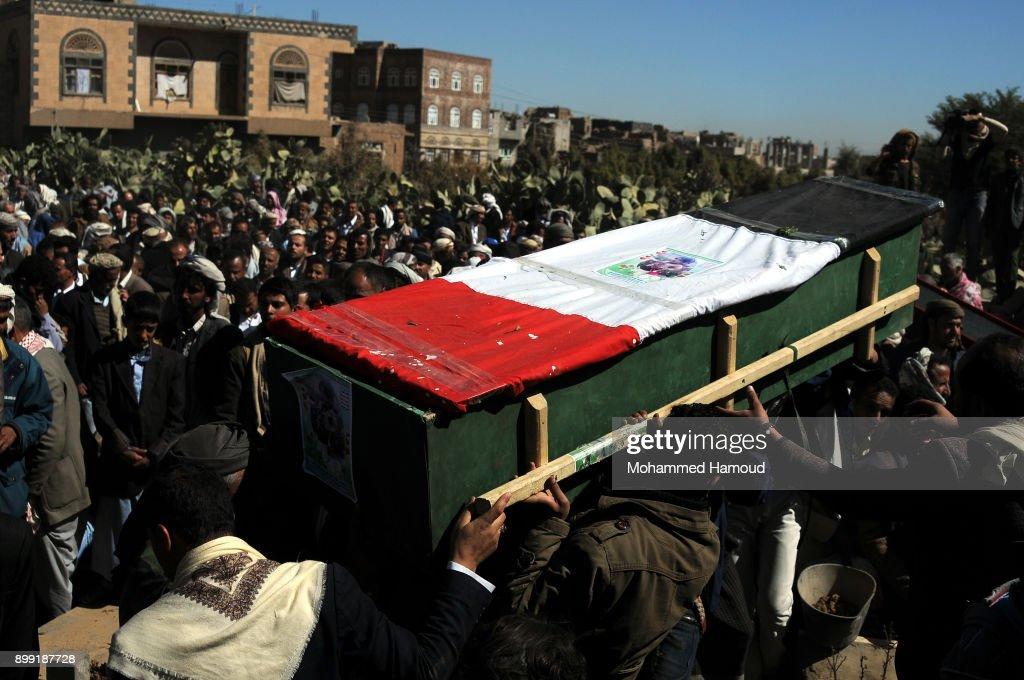 71 Yemeni Civilians Killed by Airstrikes Over 48-hour Period : News Photo