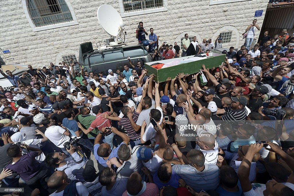 Funeral ceremony in Jerusalem : News Photo