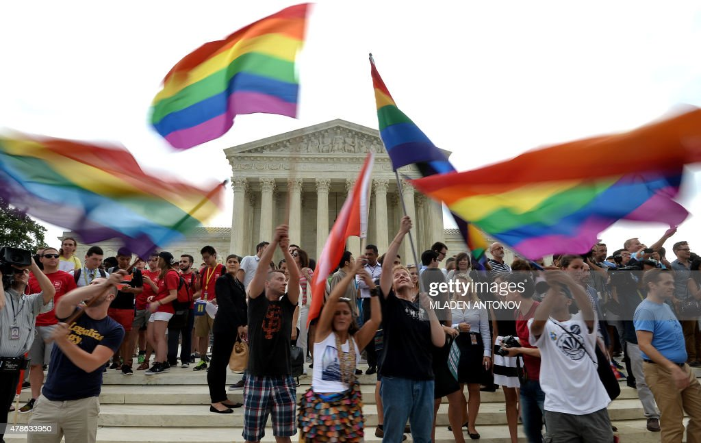 US-COURT-GAY-MARRIAGE-RIGHTS : News Photo