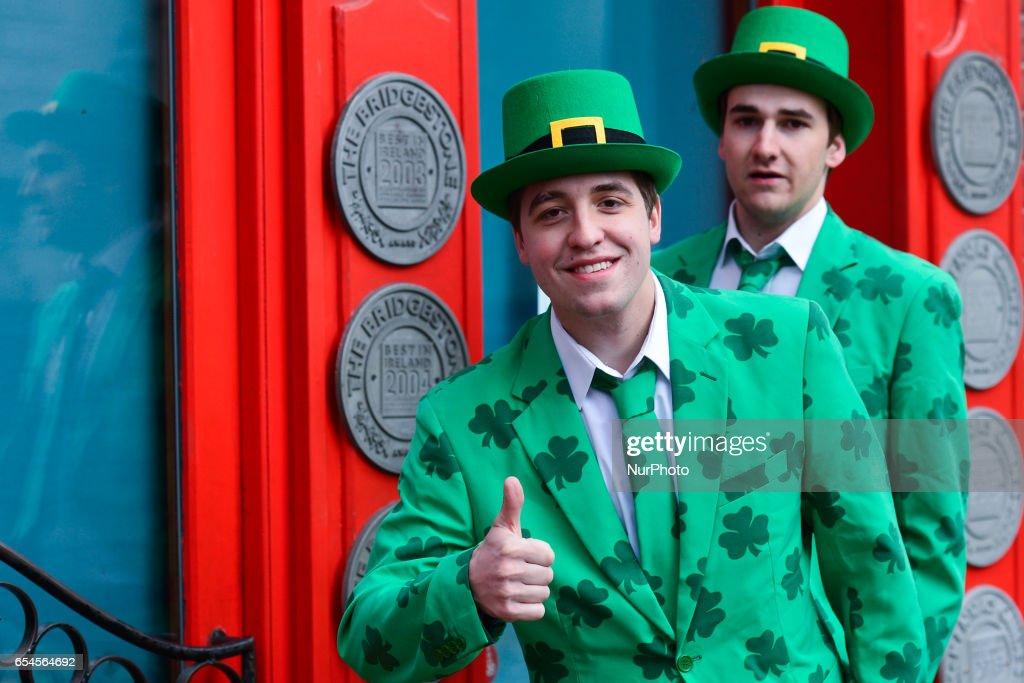 St Patrick Day Parade 2017 in Dublin : News Photo