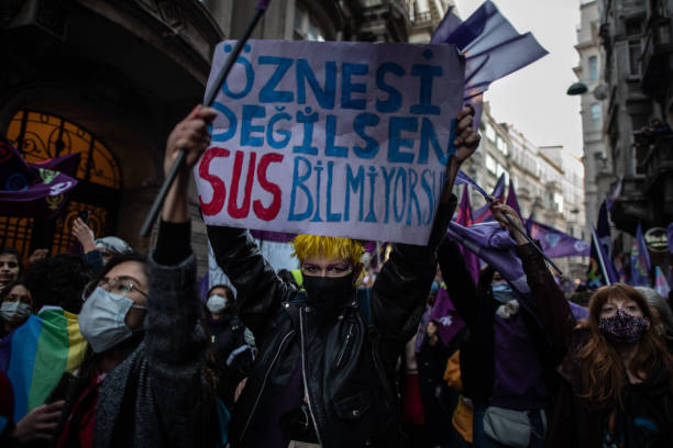 TUR: International Women's Day Celebrated in Istanbul