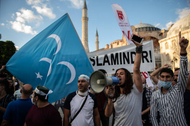 TUR: Turkish Court Votes To Allow Istanbuls Hagia Sophia To Be Used As A Mosque