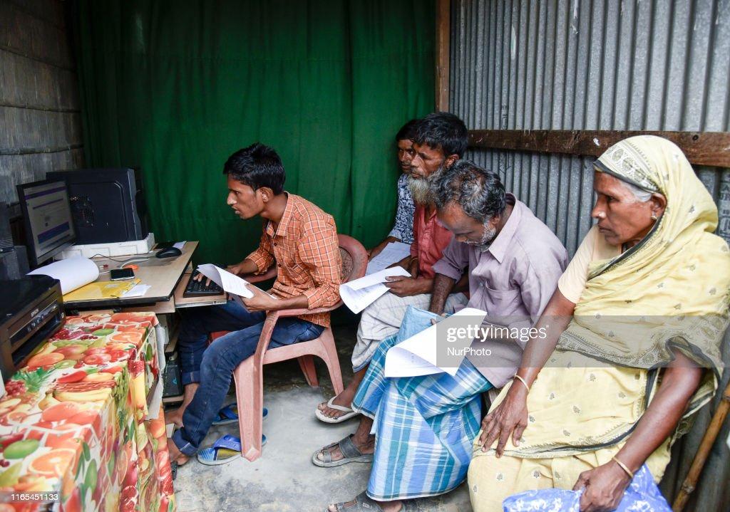 Final List Of National Register Of Citizens In Assam : News Photo