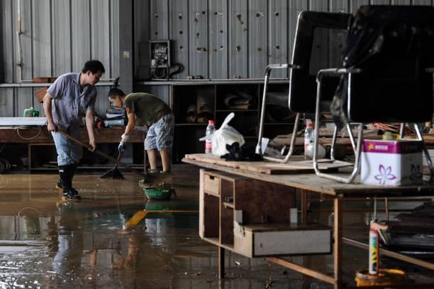 CHN: Torrential Rains Hit Shexian