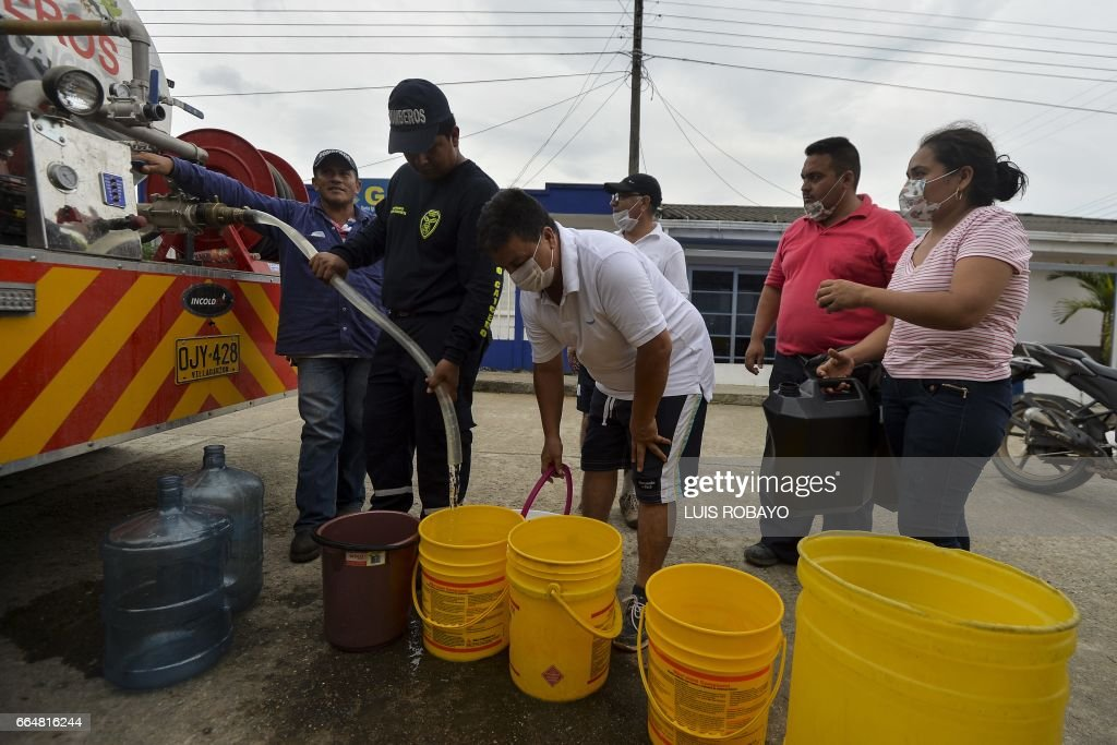 COLOMBIA-RAINS-MUDSLIDES : News Photo