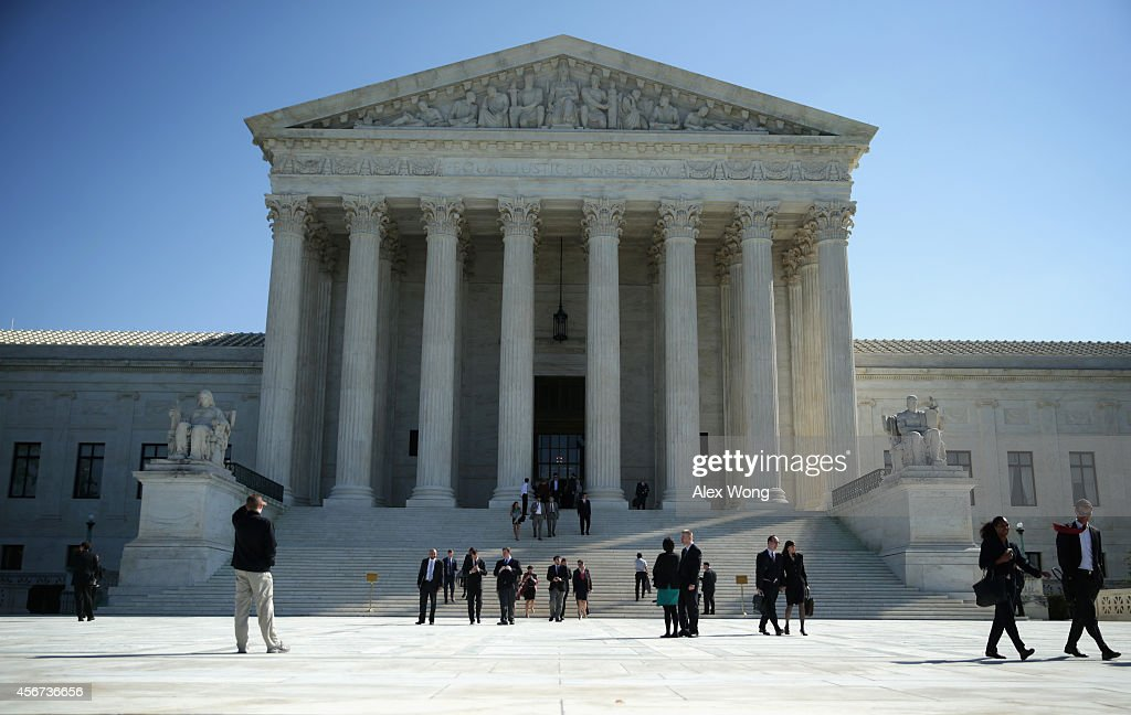 US Supreme Court Declines To Hear Appeals On Same-Sex Marriage Cases : News Photo