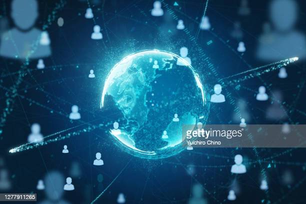 people communication network and connection - facebook stock pictures, royalty-free photos & images
