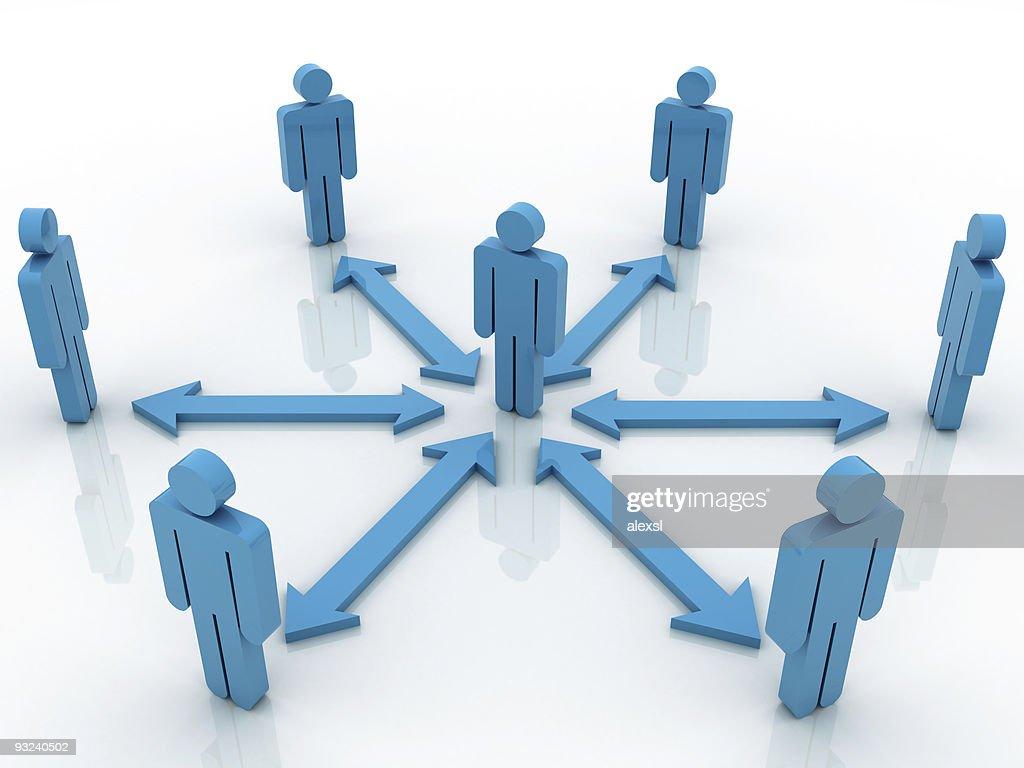 People Communication : Stock Photo