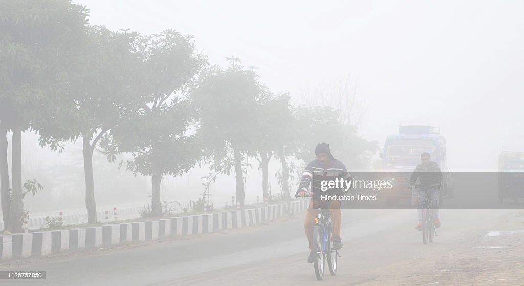 IND: Dense Fog Engulf The Jammu City