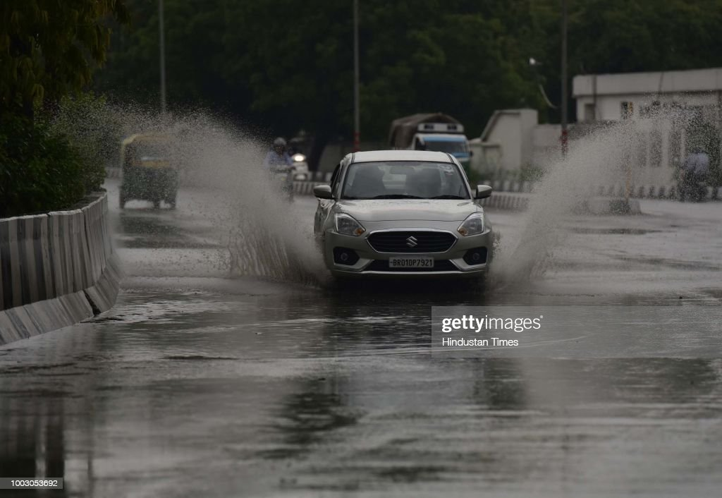 Heavy Rainfall Lashes Delhi-NCR
