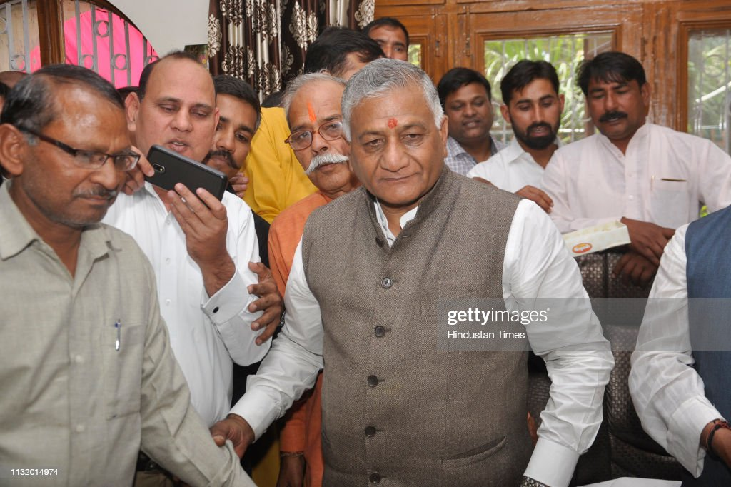 IND: BJP Candidate For Lok Sabha From Ghaziabad VK Singh