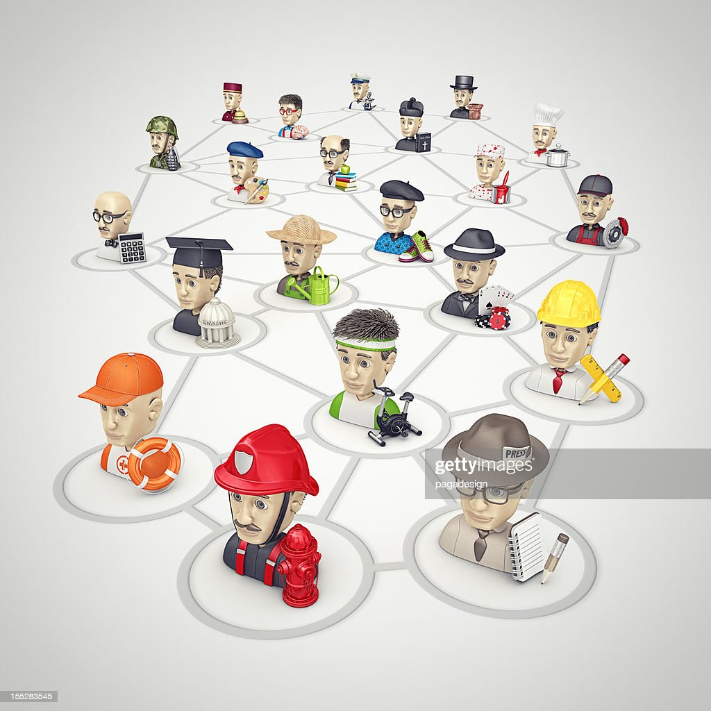 people connection : Stockfoto