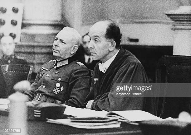 People Court Room, Roland Freisler During The Trial At Berlin In Germany On July 20Th 1944