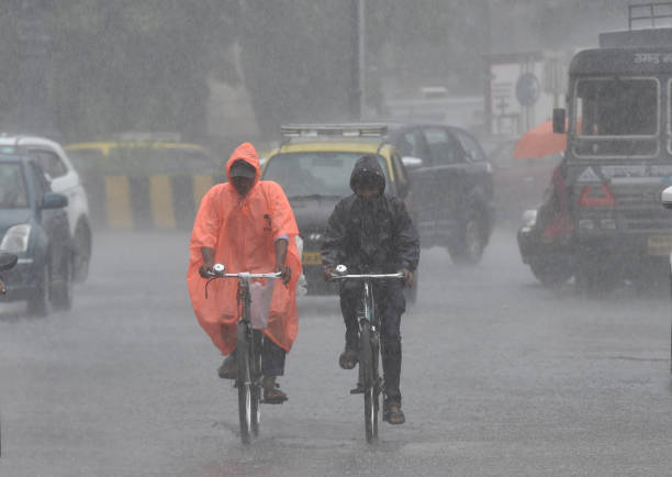 IND: Heavy Rain in Mumbai