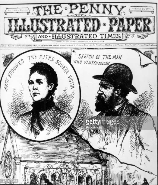 October 1888 Extract from the Penny Illustrated News 13th October 1888 This illustration is connected with the infamous Jack the Ripper murders and...