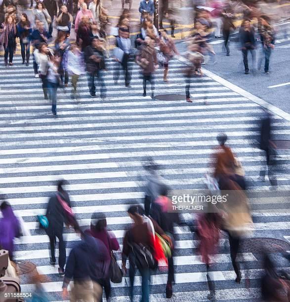 People crossing in shibuya