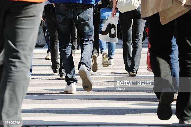 渡る人々 street