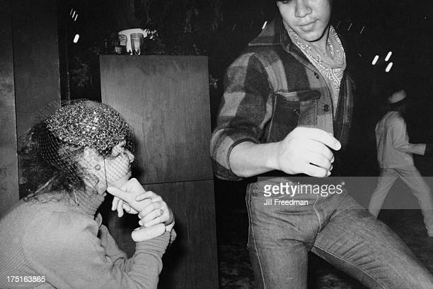 People dance at a Midtown Manhattan disco New York City 1979