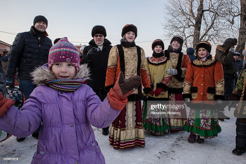 russian orthodox celebrate christmas at the peter and paul fortress