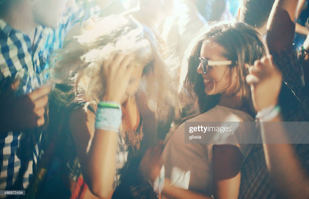 People dancing at a party. : Stock Photo