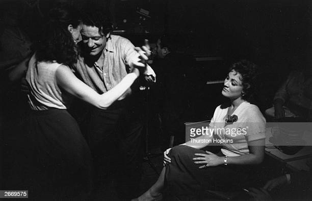 People dancing at the Gargoyle Club in Soho London Original Publication Picture Post 8593 I Am the Queen Of Soho pub 1956