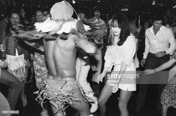 People dancing at the new nightclub Stringfellows in Covent Garden, London, 1st August 1980.