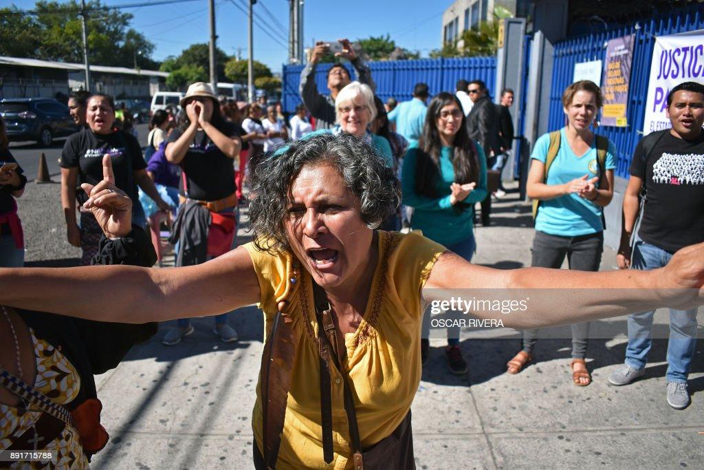 EL SALVADOR-ABORTION-VASQUEZ : News Photo