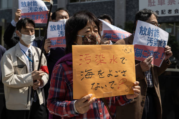 JPN: Demonstrators Gather Against Releasing Fukushima's Accumulated Water