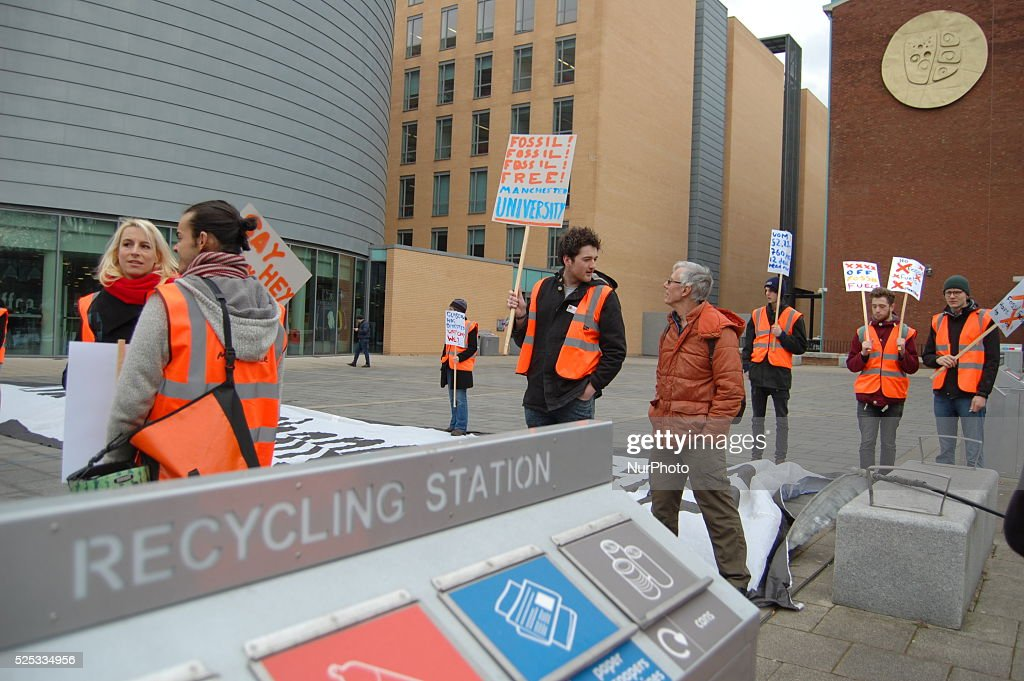 Global Divestment Day Protest : News Photo
