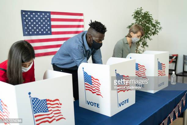 people different ethnicity voting in election - presidential election stock pictures, royalty-free photos & images
