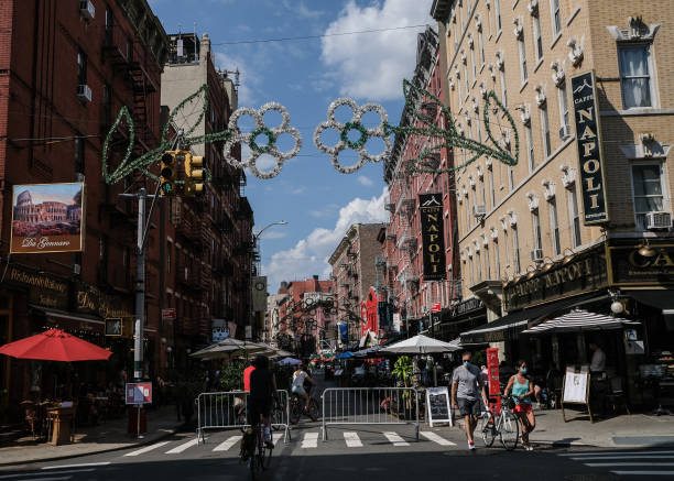 NY: New York City Opens Up Streets To Outdoor Dining As COVID-19 Cases Ease