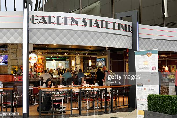 People Dining at Newark International Airport