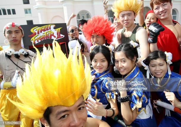 People dress up in various costumes at Sedan Chair Race Bazaar 2012 at The Peak organised by Sedan Chair Charities Fund 28OCT12