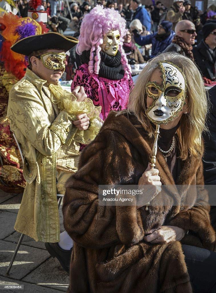 The Venice 2015 Carnival : News Photo