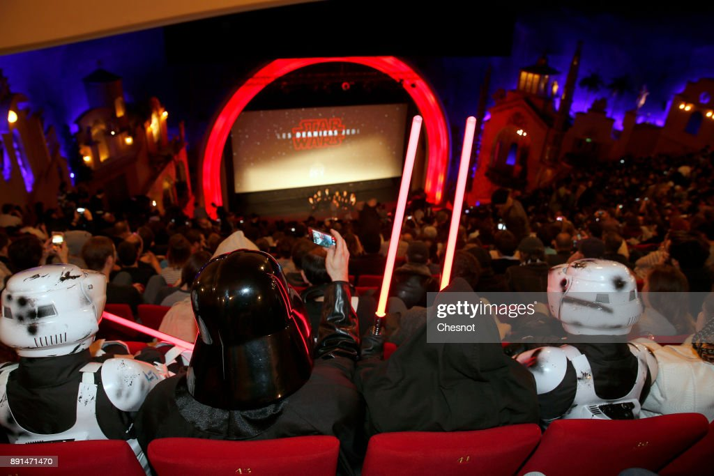 """Star Wars : Episode VII - The Last Jedi"" - Les Derniers Jedi : Public Screening In Paris"