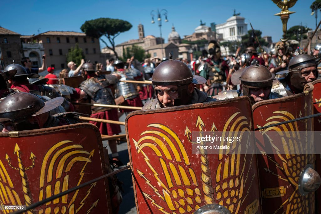 Annual Parade to Commemorate the Foundation of Rome