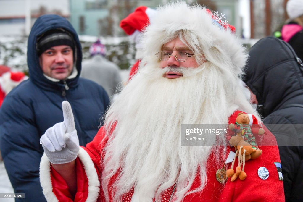 17th World Santa Clauses Summit in Estonia : News Photo