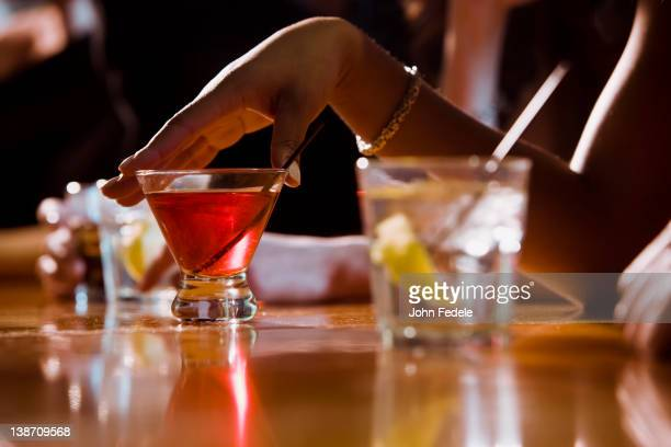people drinking in nightclub - entertainment club stock pictures, royalty-free photos & images